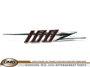 100 GRILLE BADGE:  AH 100-4 BN1 BN2